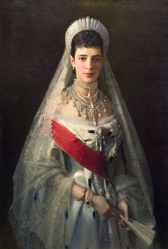 Иван Крамской, Портрет императрицы Марии Фёдоровны