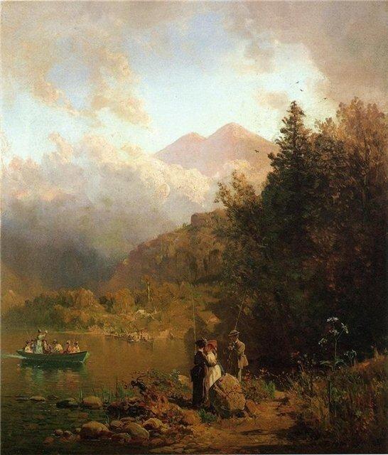 Жан-Луи Форейн Рыбак 1884 г