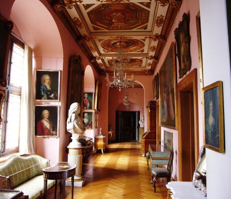 В залах замка Frederiksborg.
