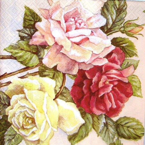 Нарисованные розы - ebc