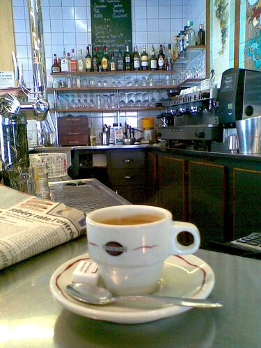 кофе на бульваре распай