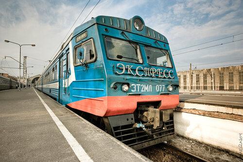 ЭТ2М - 077. Балтийский Вокзал