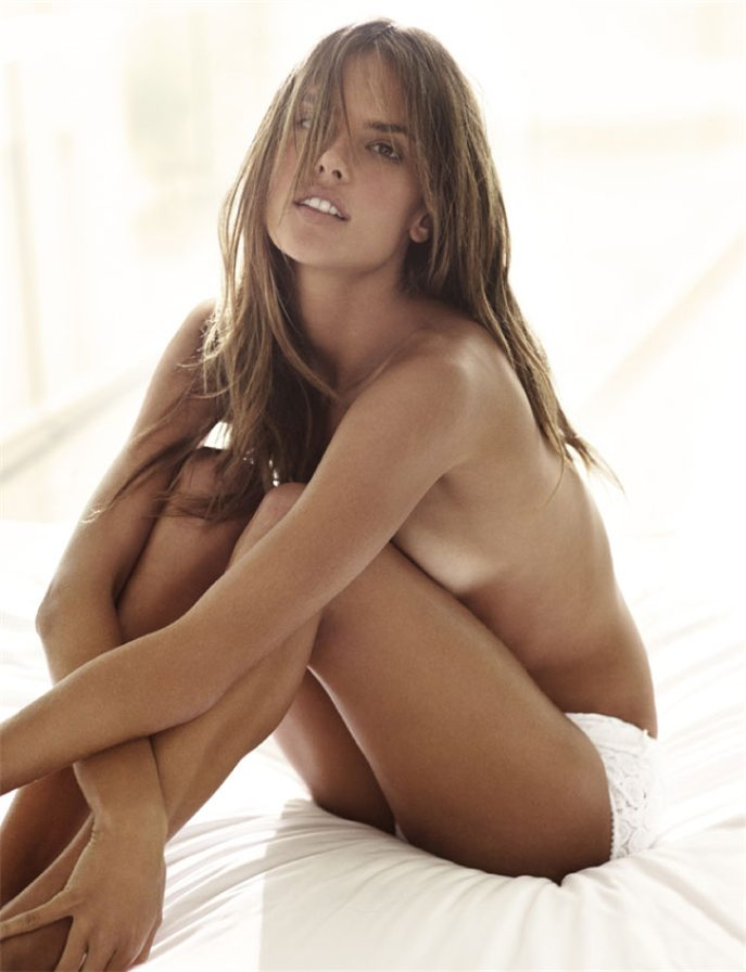 Brazilian Model Alessandra Ambrosio Nude Sexy By Stewart Shi Amabitch 1