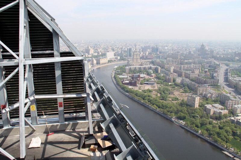 На крыше бвшни Империя в Сити 07.05.2010