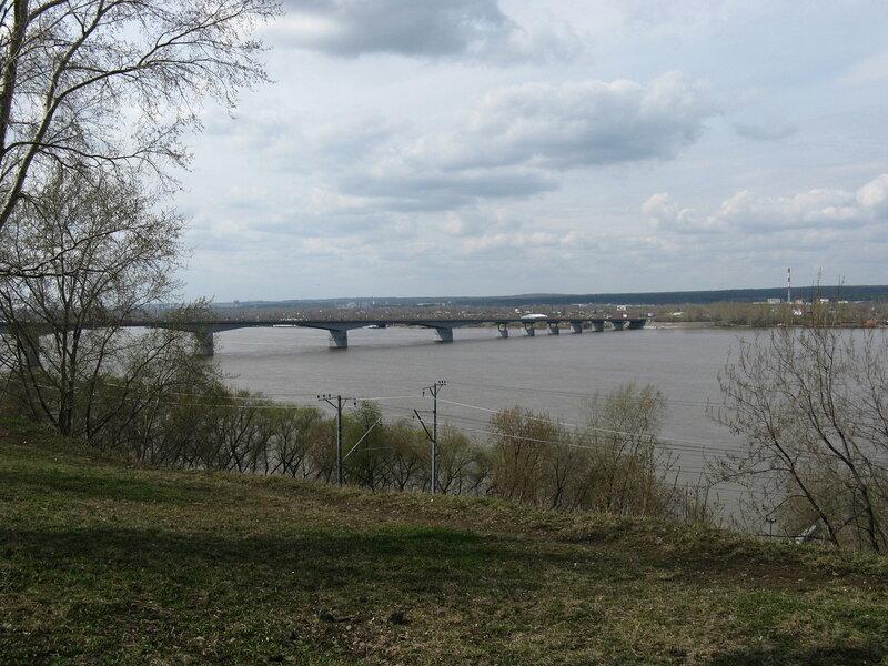 Пермь в начале мая