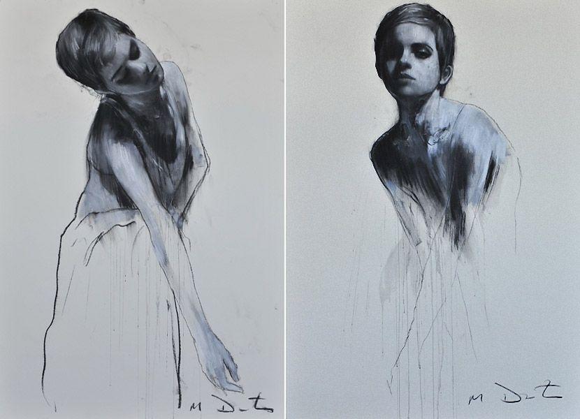 Портреты Emma Watson от Mark Demsteader