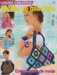 Laura Creativa №21 - Bolsas de Ganchillo