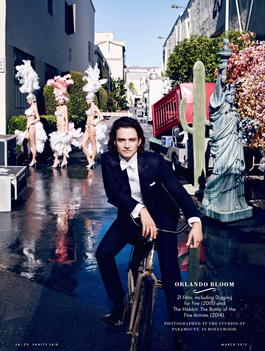 Лучшие британские актеры в проекте The 2015 Hollywood Portfolio by Jason Bell in Vanity Fair march 2015 - Орландо Блум / Orlando Bloom