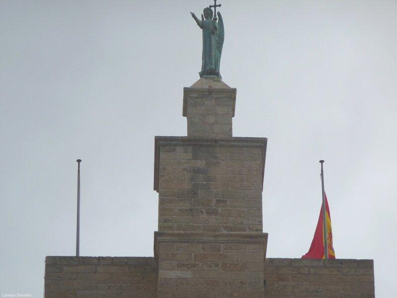 Скульптура Архангела Св. Гавриила - St Gabriel.