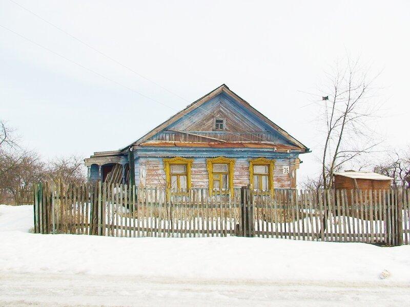 Глиньково. Д1. Общий вид дома.