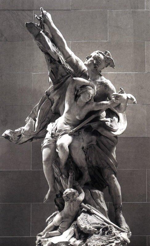 Персей и Андромеда, Пьер Пюже, 1678-84 гг.Париж, Лувр
