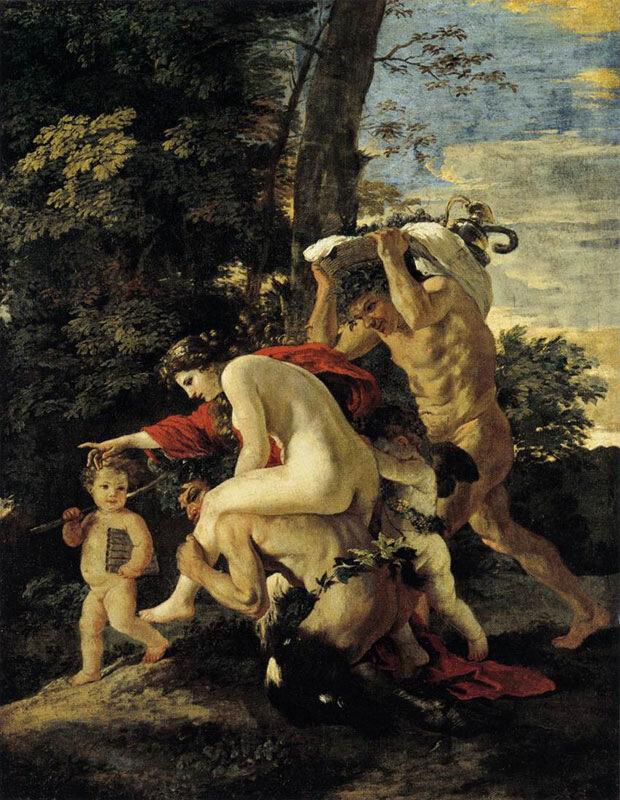 Ок. 1627 г.Кассель, Государственные музеи, Вакханалия