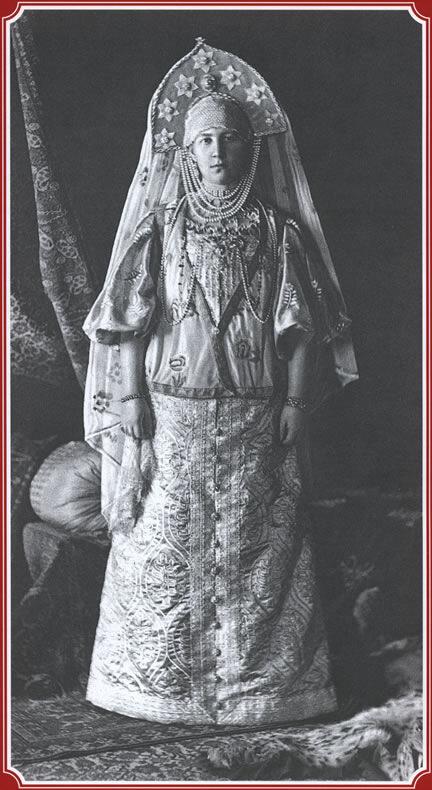 """Великая княгиня Мария Георгиевна - """"Крестьянка города Торжка"""""""