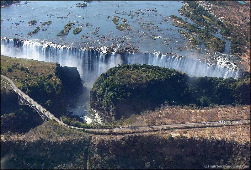 Водопад Виктория