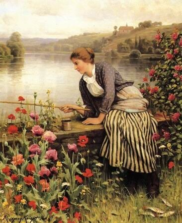 Женщины на рыбалке