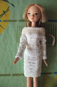 Платье Для Барби Из Носка