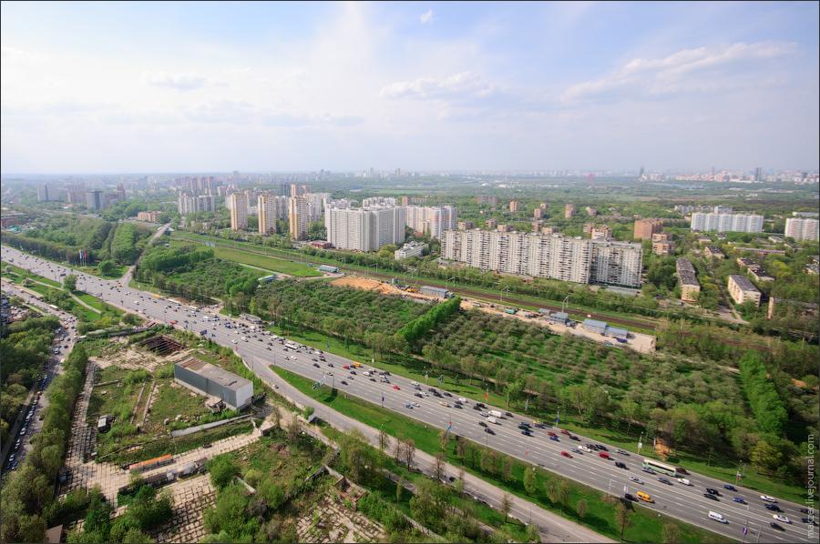 Кутузовского проспекта и