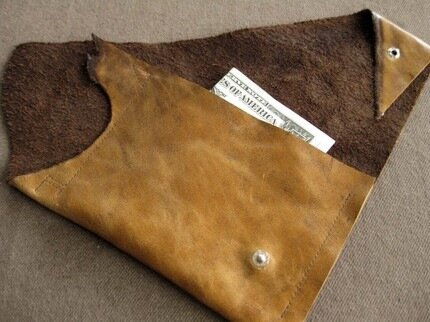 recycling id... Leather Craft Ideas For Kids