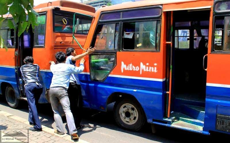 Джакартский автобус