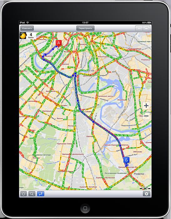 Мобильные Яндекс.Карты теперь работают на iPad Яндекс выпустил специальную версию своей программы Мобильные...