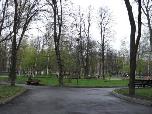 Сквер на Миусской площади