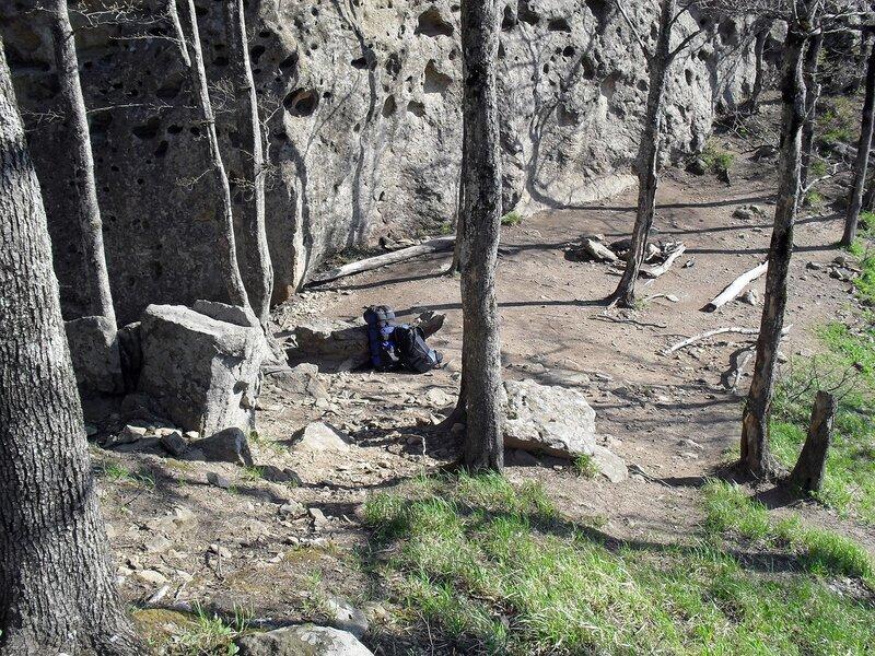 На площадке у скалы ... SDC15888