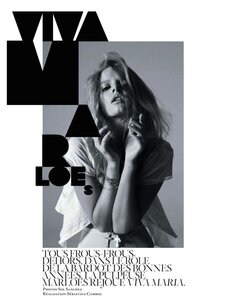 Марлос Хорст / Marloes Horst by Sol Sanchez in Viva Marloes