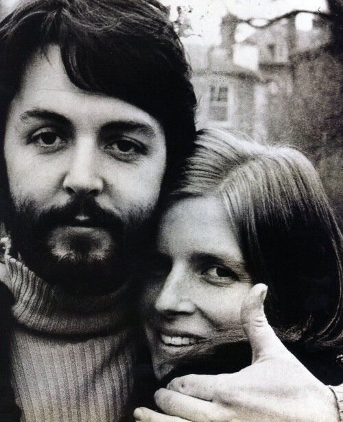 Линда и Пол Маккартни