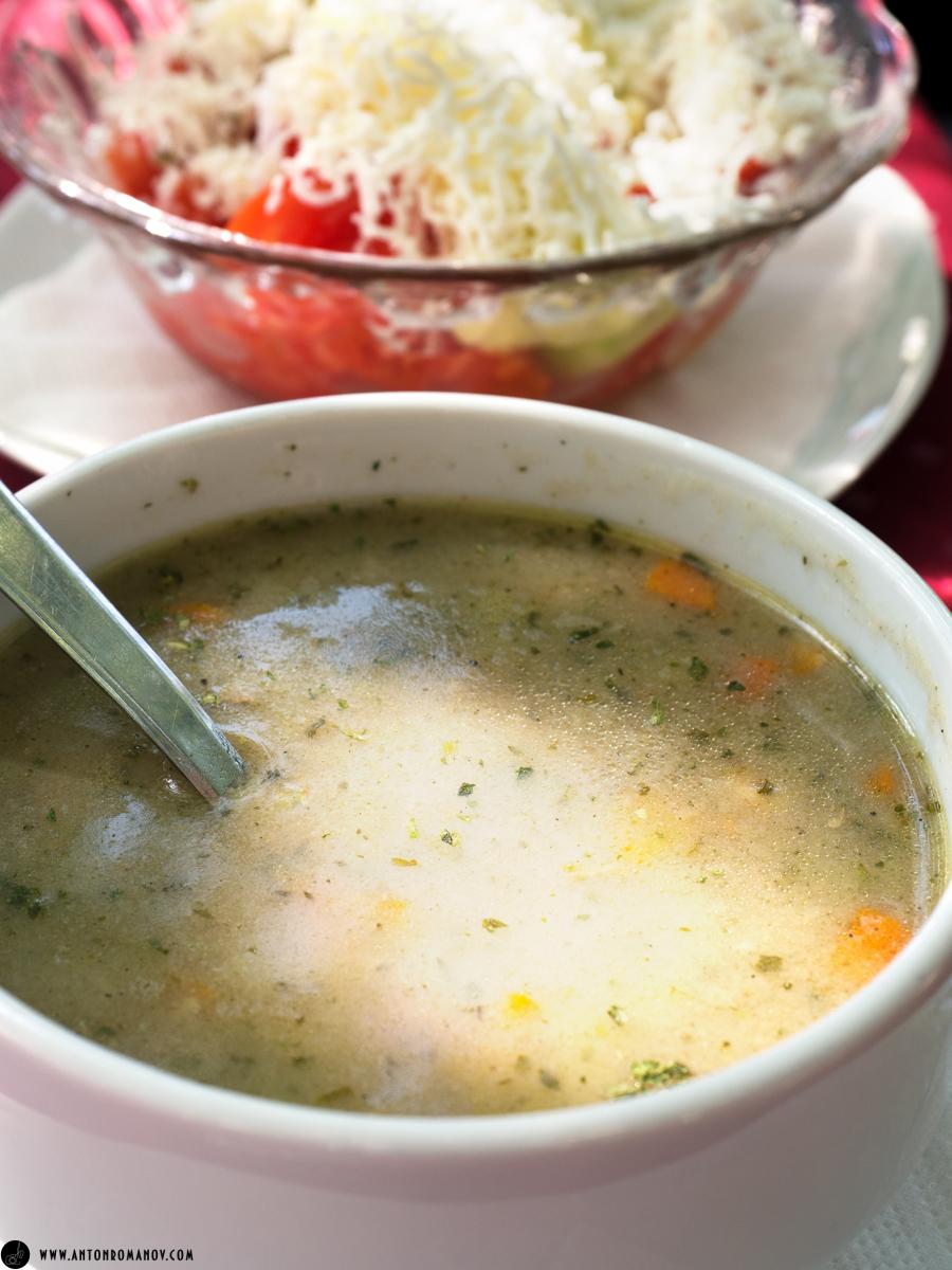 Котор. Черногория. Рыбный суп