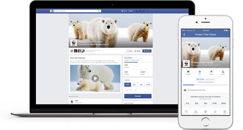 Facebook облегчит сбор средств на благотворительные нужды