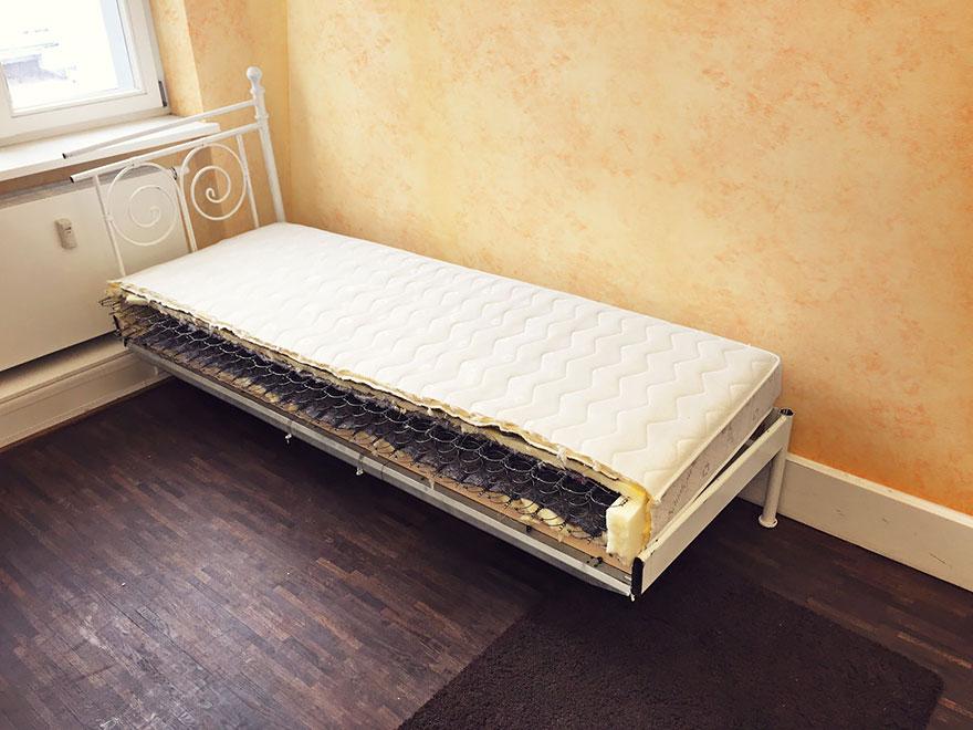 5. «В отличие от своей бывшей супруги, ничего плохого про эту кровать сказать не могу, честно, всегд
