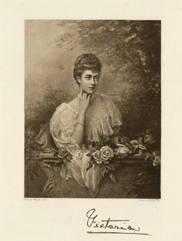 Принцесса Виктория Уэльская Фредерик Джон Дженкинс, после  гелиогравюра Эдварда Хьюза (1896).