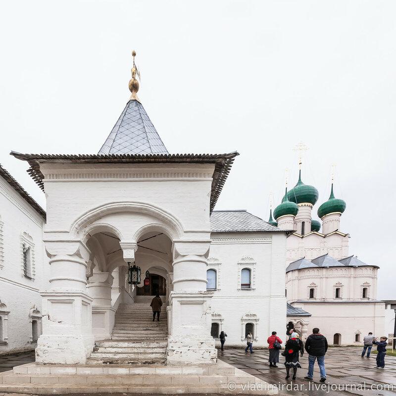 Красная палата. Ростовский кремль.