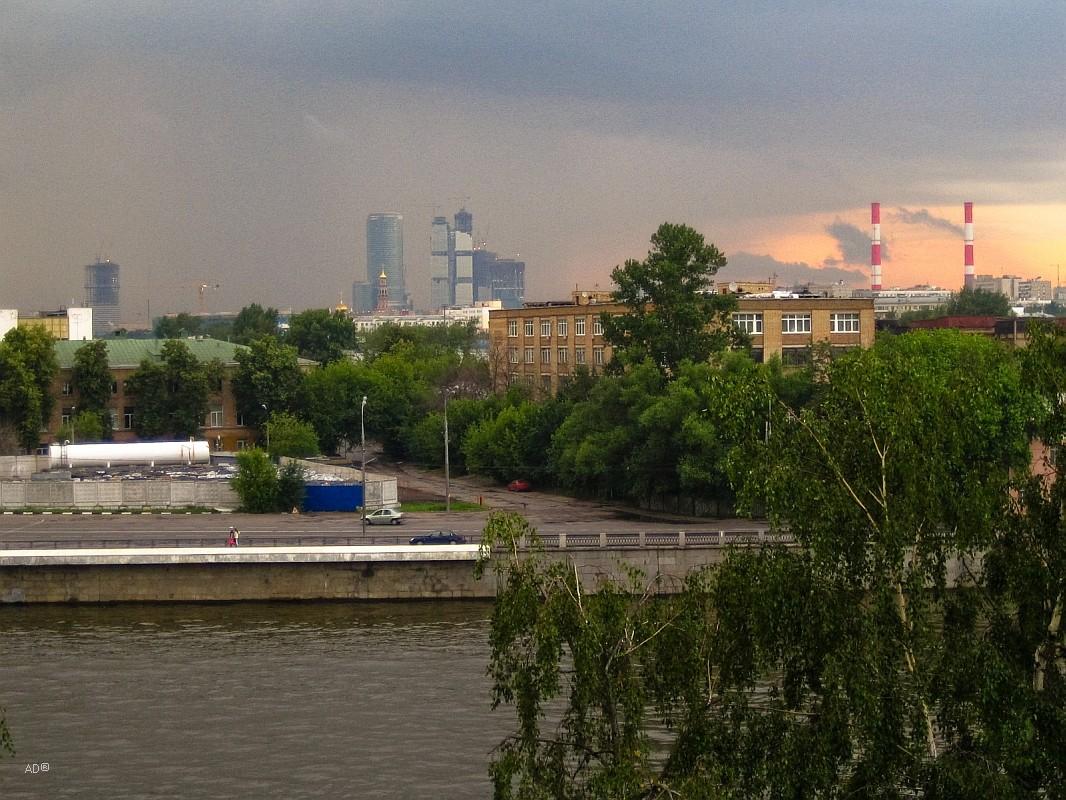 Андреевская наб. - Лужники