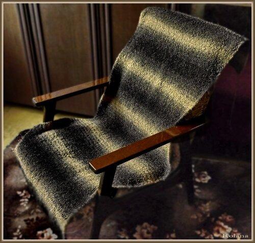 Накидки на кресла вязание спицами