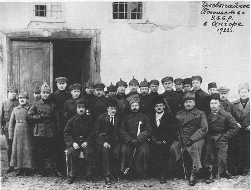 Sovyet Heyeti Ankara'da