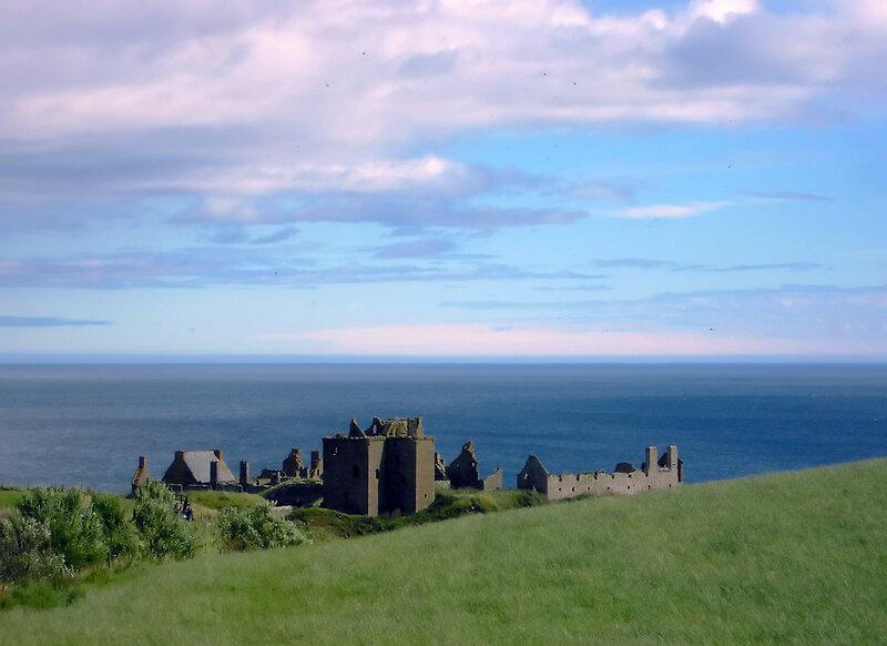 Замок Dunnottar