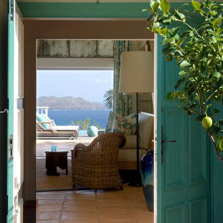 интерьер дома на побережье