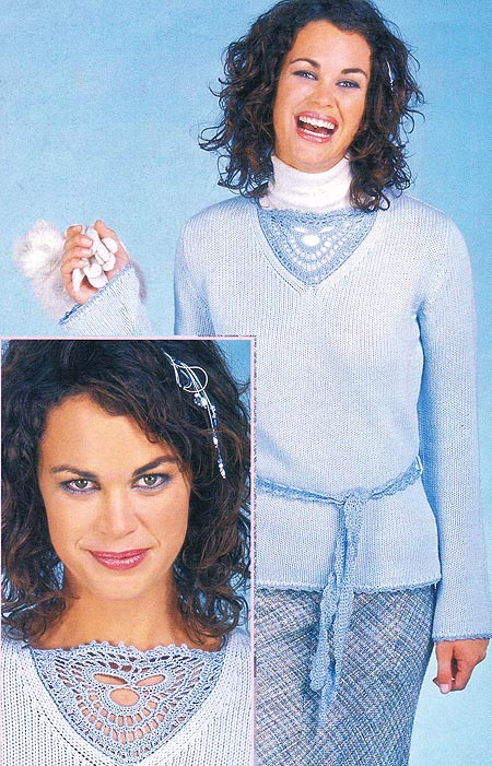 апгрейд одежды хендмейд вязание крючком схема