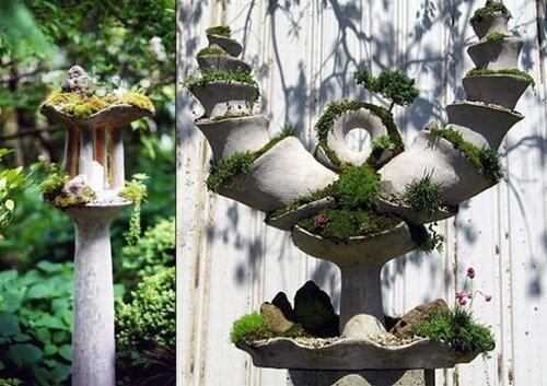 необычные садовые скульптуры