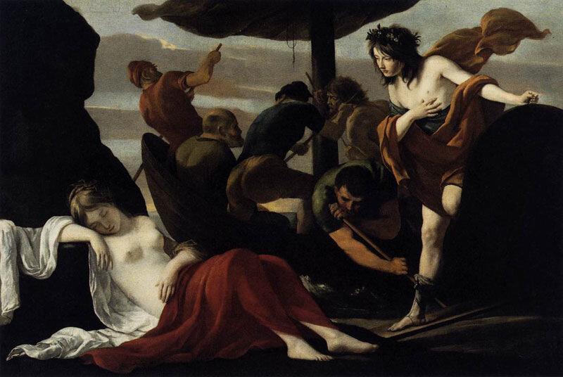 Братья Ленен, ок. 1635 г.Орлеан, Музей изящных искусств, Ариадна и Вакх
