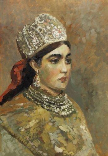 Валерия Барабанова, Девушка в кокошнике