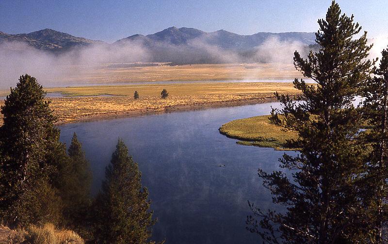 Йелоустоун, Йосемитский парк, гигантская секвойя