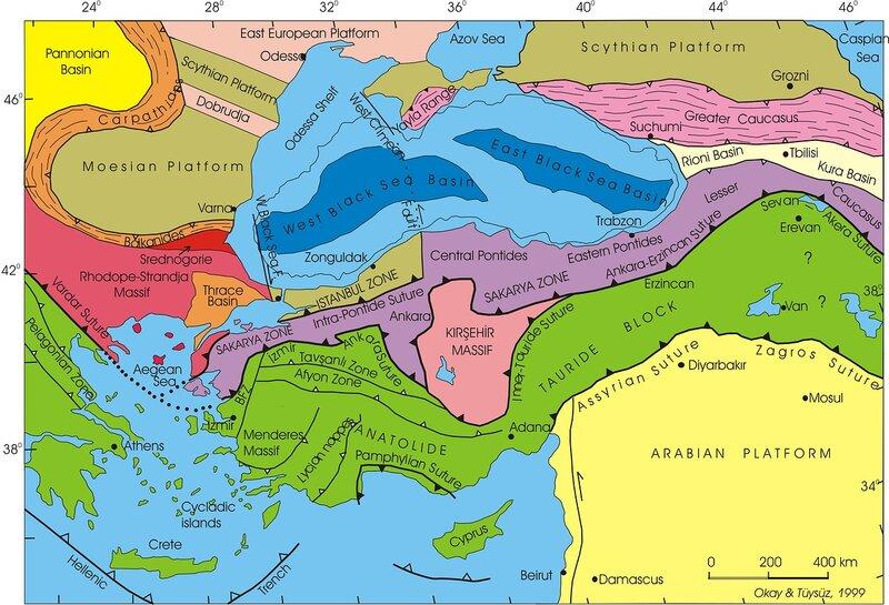 О добыче газа в Турции