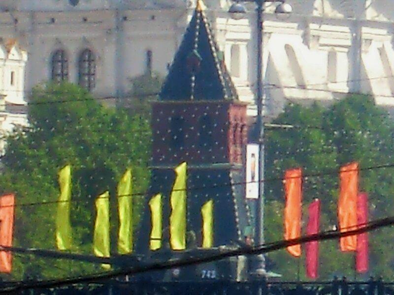 Во время парада Великой Победы 9 мая 2010 года в Москве