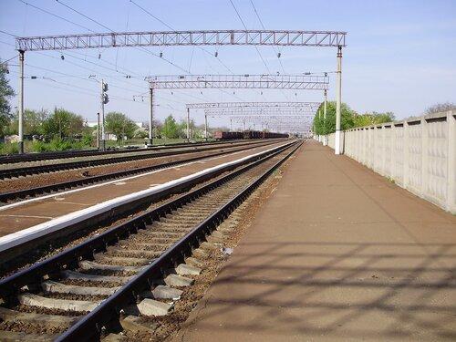 На станции Миргород