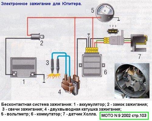 Схема установки подобного
