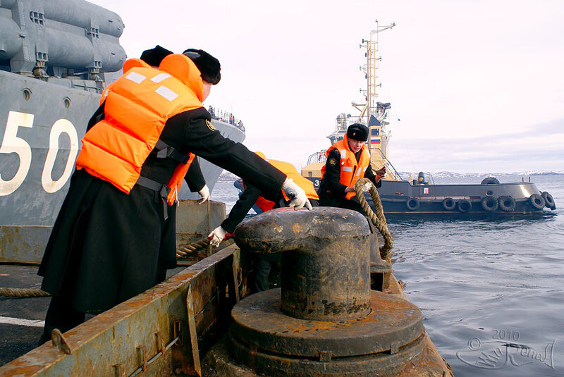 «Адмирал Чабаненко» вернулся из похода