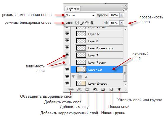 Как сделать слои в адобе фотошоп - Leksco.ru