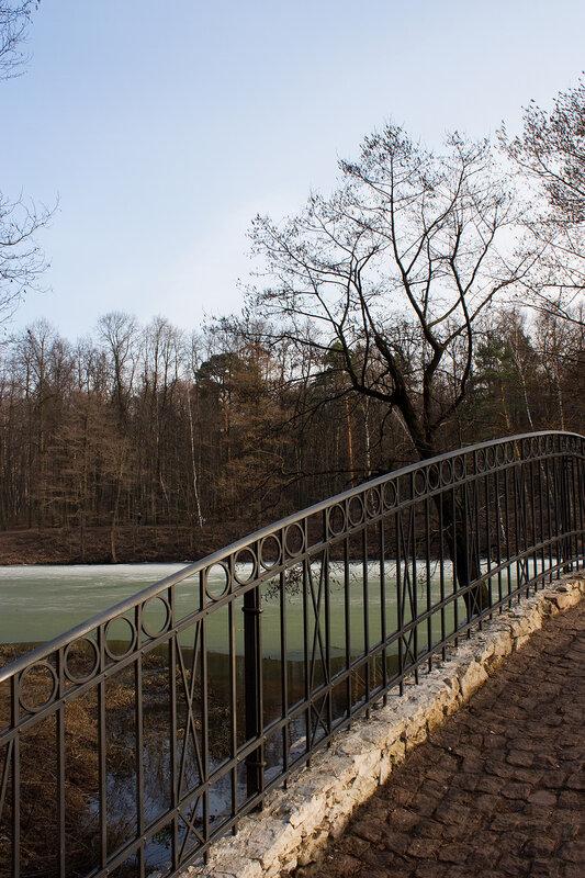 Пейзаж у мостика